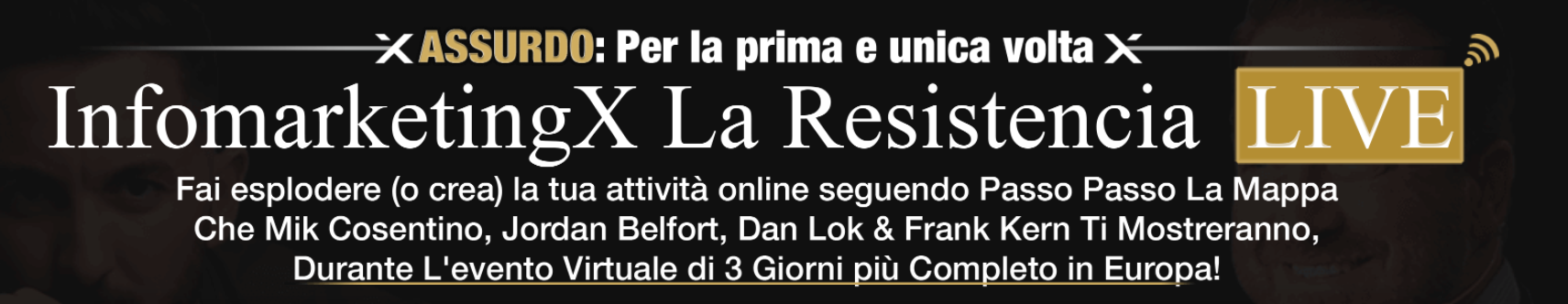 evento resistencia live