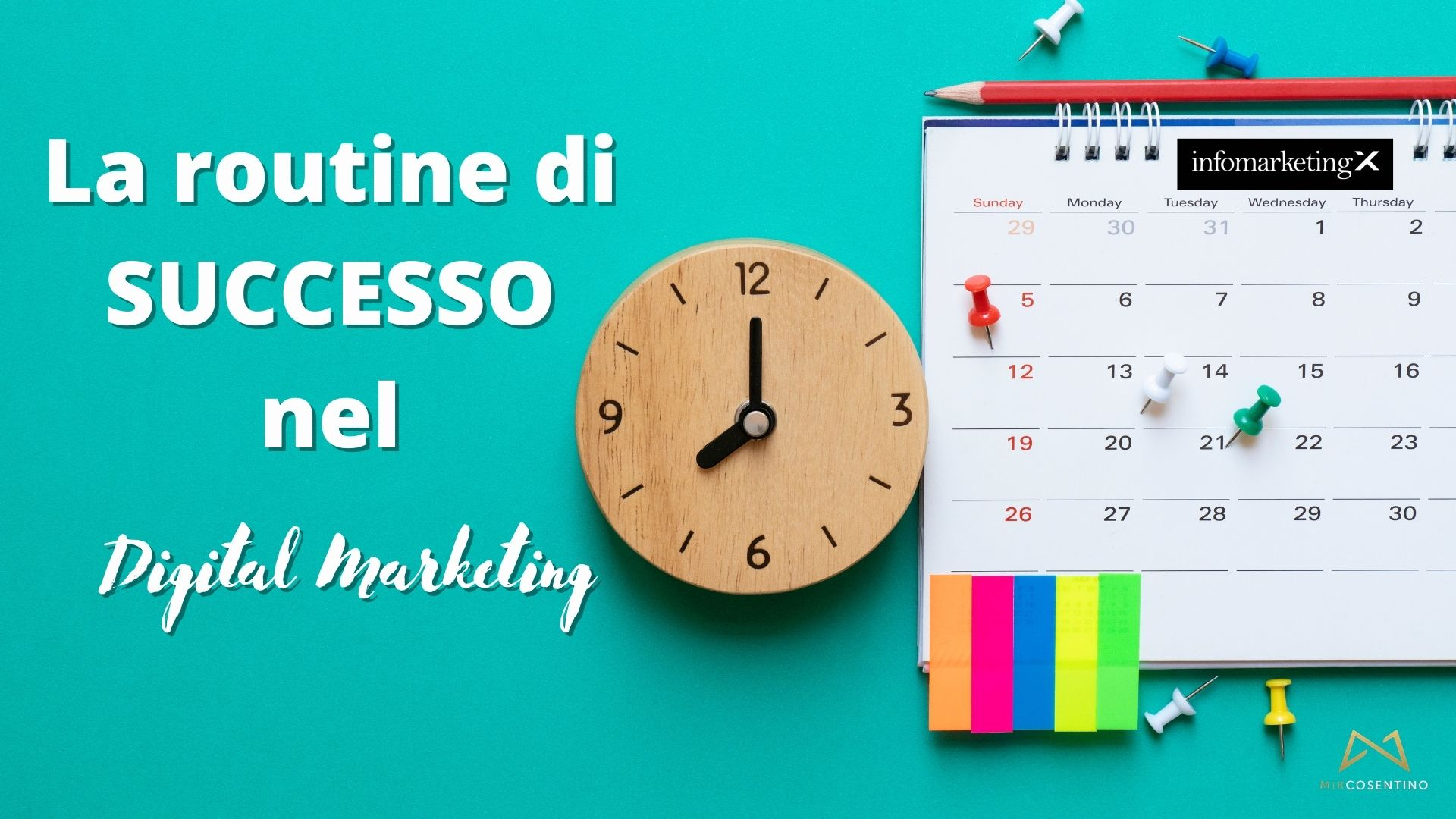 routine di successo nel digital marketing