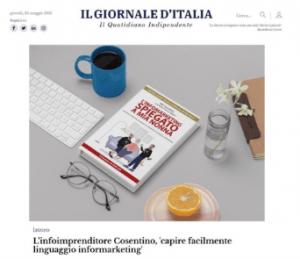 copertina l'infomarketing spiegato a mia nonna il giornale d'italia